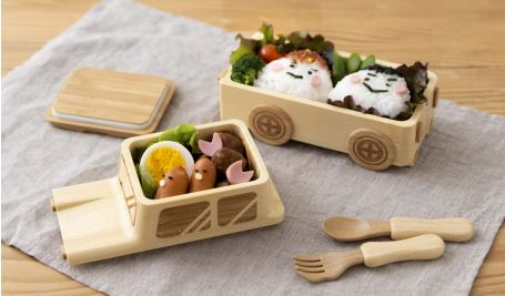 Bamboo is great for lunch boxes